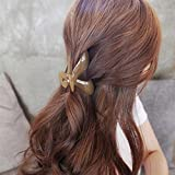 Large bath chief headdress hairpin word folder clip clip hair clip jelly color gripper for women girl lady