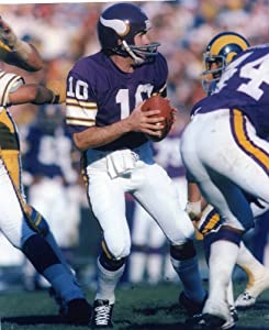 Fran Tarkenton Minnesota Vikings 8x10 Sports Action Photo (g)