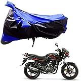 Adroitz Bike Covers for Bajaj Pulsar 150 (Black Blue)