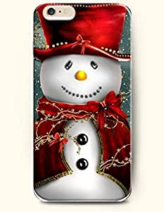 OOFIT Phone Case for iPhone 6 Plus 5.5 Inches with the Design of Formal Snown with Ceremonial Robe