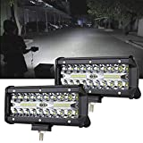 Best Off Road Lights - 7inch LED Light Bar 2pcs 240W Offroad Driving Review