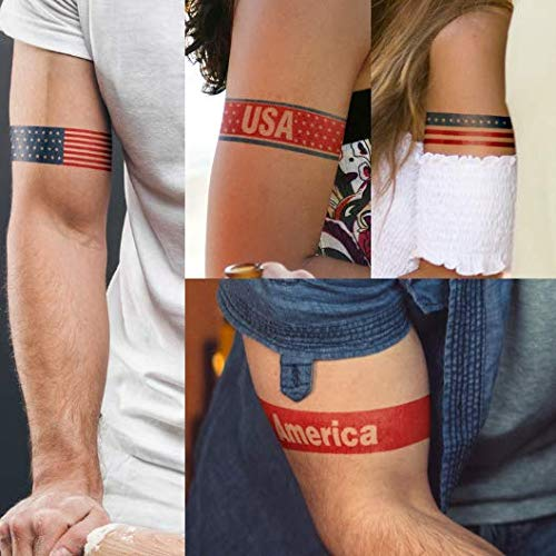 8 Patriotic Armband Tattoos | Made in USA