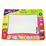 Coolplay 4 Color Children Water Drawing Mat Board & Magic Pen Doodle Kids Educational Toy Gift 31.5