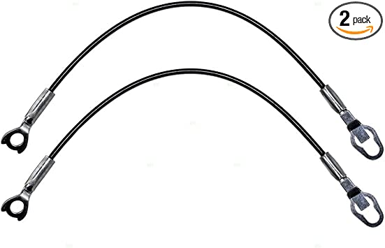 Left and Right Dodge Dakota  Pickup Truck Tailgate Liftgate Cables