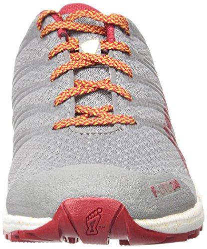 Grey Inov lite Mens trainer Cross White Dark Shoe Red F 8 240 UxFHxa