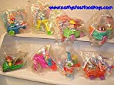 Vintage Mcdonalds Set of 8 Tiny Toons Kids Meal Toys Unopened