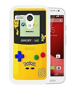 Popular Design Motorola Moto G Case Pokemon 2 White Best New Design Motorola Moto G Cover Case
