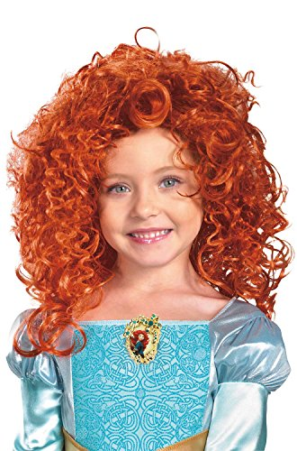 Brave Halloween Costumes For Babies (Disguise Costumes Brave Merida Wig, Red, One)