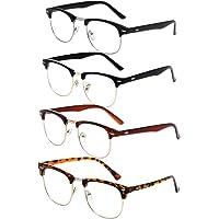 Ranvi Glasses Box Estuche de gafas para estudiantes de moda para hombres y mujeres
