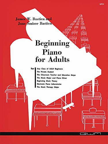 GP23 - Beginning Piano for Adults - Bastien
