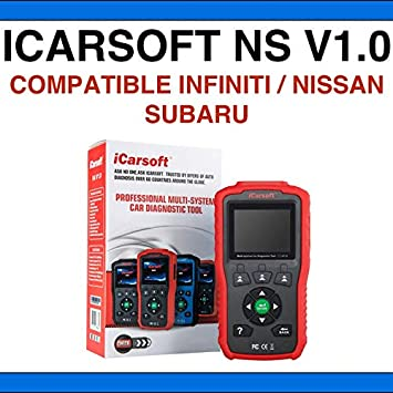 ICARSOFT NS V1 0 Diagnostic Suitcase - Compatible with