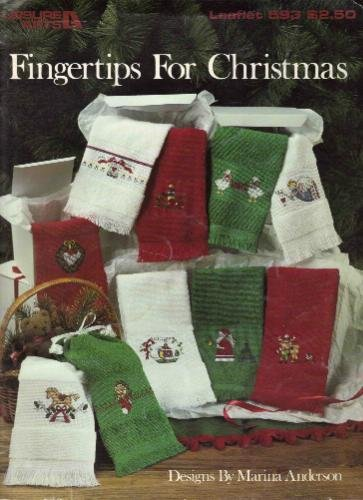 Fingertips for Christmas (Cross Stitch, Towels) (Leisure Arts, #593)