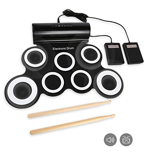 JouerNow RUD003 Portable Music Instruments, Battery & USB...