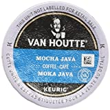 Van Houtte Mocha Java Single Serve Keurig Certified Recyclable K-Cup pods for Keurig brewers, 24 Count