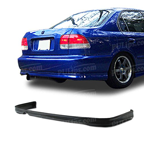 Type-R Style Rear Bumper Lip For Honda Civic 1996-1998 Coupe; -