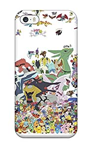 Special Design Back Pokemon Phone Case Cover For Iphone 5/5s