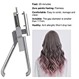 6D Hair Extension Tool by Beisrui Hair | Professional Salon Equipment for Faster Hair Extension Treatments |Increase Volume and Length with Nano-Link Technology (6D hair extensio)