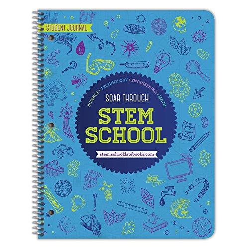 STEM Education Journal for Middle School / High School - By School Datebooks