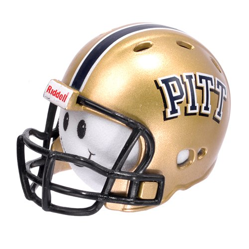 NCAA College Football PITT Pittsburgh Panthers Car Antenna Topper & Yellow Smiley Antenna Topper Tenna Tops®