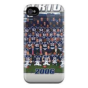 Hot Design Premium JIp10498iscD Cases Covers Iphone 4/4s Protection Cases(new England Patriots)