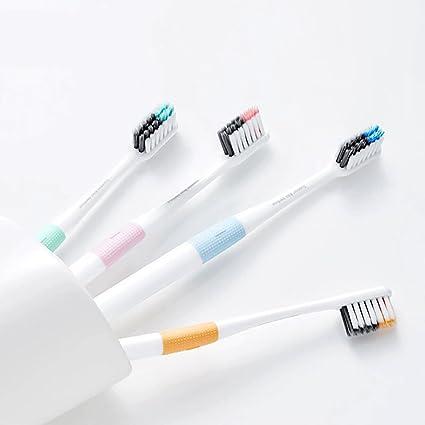 Médico B Cepillo de dientes cabeza completa diferentes longitud cerdas cepillo de dientes para adultos,
