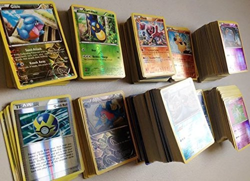 Pokemon 10 Rare Card Lot with 1 Guaranteed EX Card!!!! 1 Sealed Booster Pack!