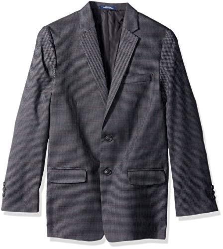 Chaps Big Boys' Blazer Jacket, Dark Charcoal, 12