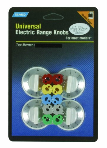 Price comparison product image Camco 00923 Electric Range Knobs - Top Burner (White)