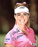 Paula Creamer Signed Photo - 8X10 BAS #B38994 - Beckett Authentication - Autographed Golf Photos