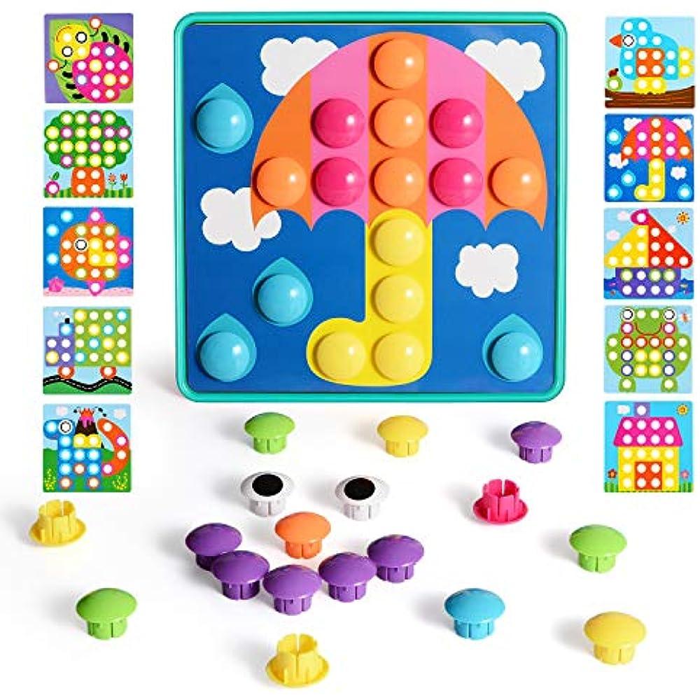 NextX Button Art Toddler Game, Color Matching Mosaic ...