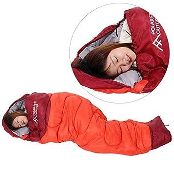 Saco de Dormir con Bolsa de Transporte para Adultos y Niños, para Camping, Portátil
