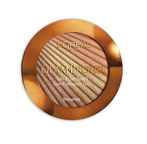L'Oreal Glam Bronze Sun Radiance Trio 202 Brunettes