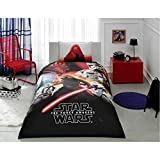 Star Wars Bedding Duvet Cover Set New Licensed 100% Cotton / Star Wars Twin Size Duvet Cover Set / Star Wars Bedding Set 3 PCS