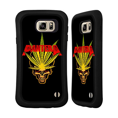 Official Pantera Pot Leaf Art Hybrid Case for Samsung Galaxy Note5 / Note 5