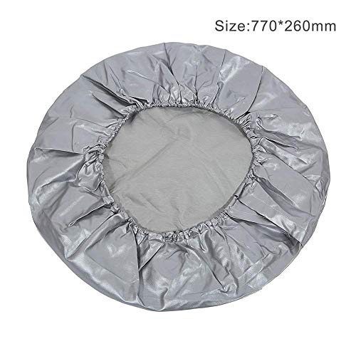 Bingo Point Automobile Car Spare Tire Cover Heavy Duty Waterproof Vehicle Wheel Elastic Protective Case Dustproof Tyre Cover Bag for SUV by Bingo Point (Image #1)