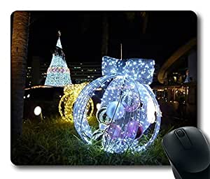 Christmas Lights Cool Comfortable Gaming Mouse Pad