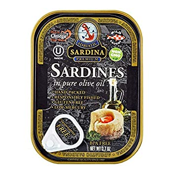Adriatic Sardina Wild Caught 3.7-oz Canned Sardines