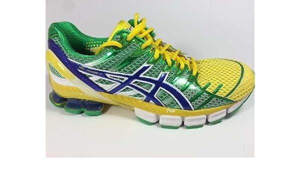 finest selection 91bbd 40f71 Men s Asics GEL-Kinsei 4 Running T139Q Brazil Green size 11  Amazon.ca   Shoes   Handbags