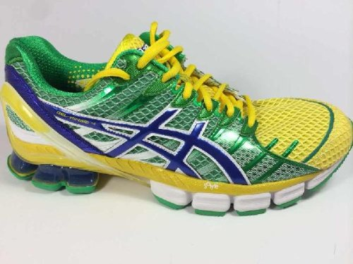 finest selection 958c2 890cc Men s Asics GEL-Kinsei 4 Running T139Q Brazil Green size 11  Amazon.ca   Shoes   Handbags