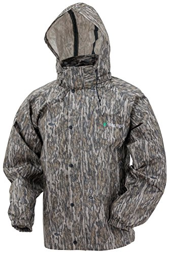Frogg Toggs AS1310-50XL All Sports Camo Rain Suit, Mossy Oak Bottomland, X-Large