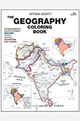 Geography Coloring Book (3rd Edition) Paperback