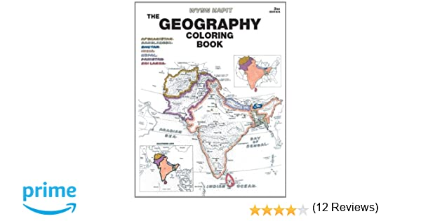 geography coloring book 3rd edition wynn kapit 9780131014725 books amazonca