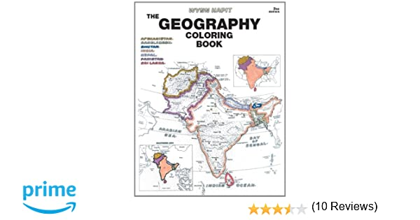 Geography Coloring Book (3rd Edition): Wynn Kapit: 9780131014725 ...