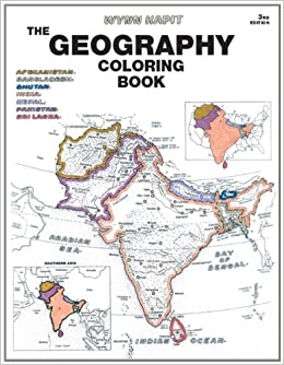 Geography Coloring Book (3rd Edition): Wynn Kapit ...