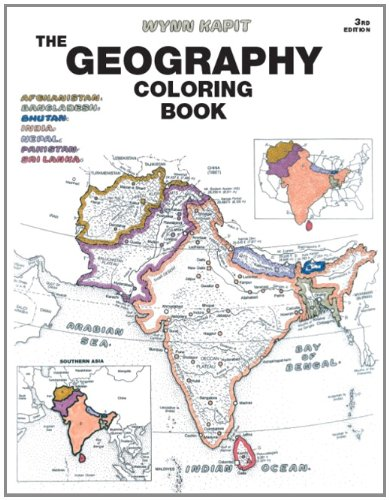 Geography Coloring Book 3rd Edition Wynn Kapit 9780131014725 Books