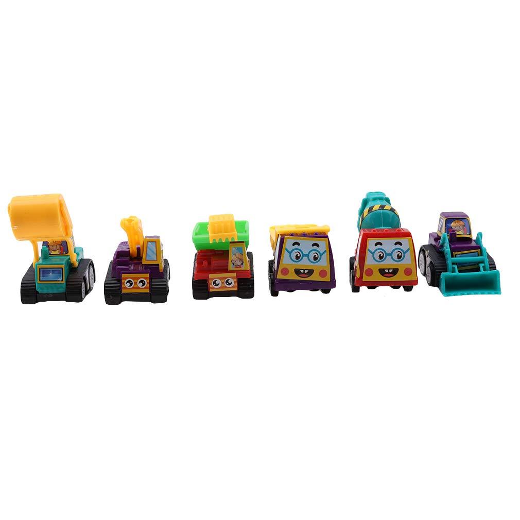 L_shop - Modelo de vehículo de construcción para Coches pequeños, Modelo de camión, Juguete para niños, plástico, Fire Truck, As it is Description