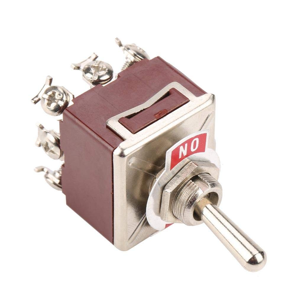 Toggle Switch 3 Position 12 Pin 4PDT ON-OFF-ON 10A//380VAC 15A//250VAC W7