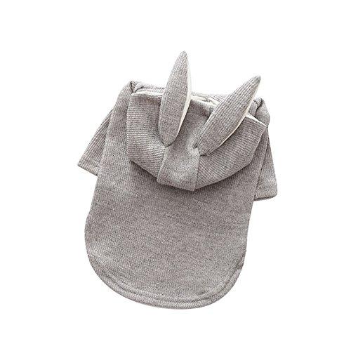 Adarl Warm Cute Pet Dog Sweater Hoodies Coat