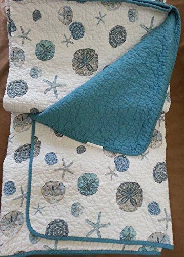 Panama jack sand dollar cotton 3-piece quilt set