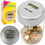 Trademark Games Ultimate Automatic Digital Coin Counting Bank